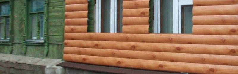 Сайдинг блок хаус: виниловый и металический сайдинг под бревно, с фото домов и пошаговым монтажом