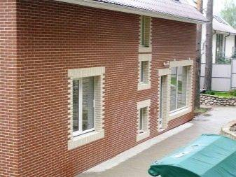 Фасадные термопанели с клинкерной плиткой для наружной отделки дома: фото и виды