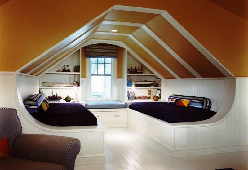 Мансарды. виды мансардных крыш. какую конструкцию лучше выбрать?