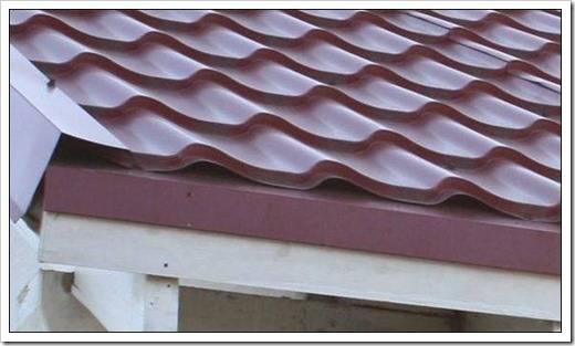 Доборные элементы для профнастила: доборка для кровли крыши, комплектующие доборы, детали для профлиста