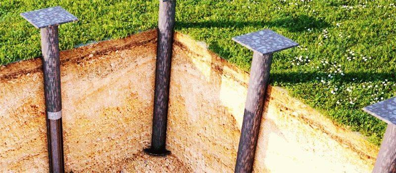 Свайно-плитный фундамент: конструкция комбинированного свайно-ростверкового, чертежи монолитной бетонной плиты на винтовых, забивных ж/б сваях