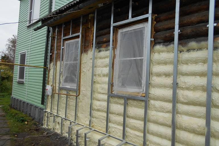 Можно ли утеплять брусовой дом изнутри. как утеплять брусовый дом изнутри