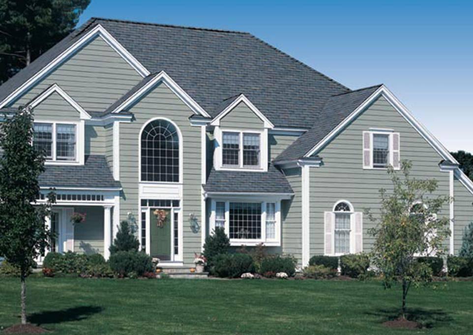 Виниловый сайдинг для частного дома — советы по выбору дизайна, идеи применения отделочных материалов и особенности их монтажа (95 фото)