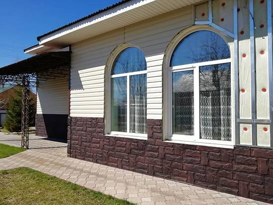 Выбираем фасад дома. сайдинг под камень- песчаник (+фото, цены) | фасад маркет