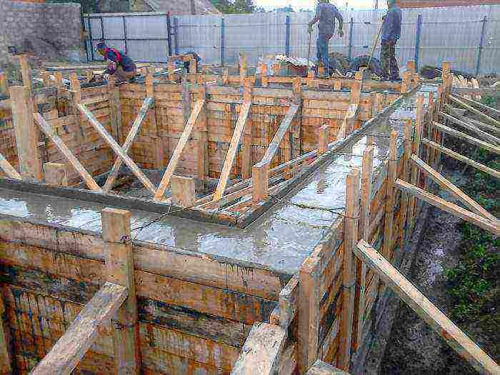 Фундаменты, стены подвалов, полы по грунту