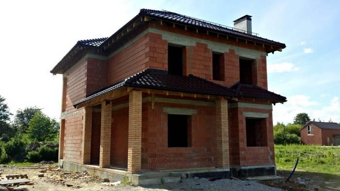 Строительство несущих стен в доме из газобетона: требования и особенности кладки