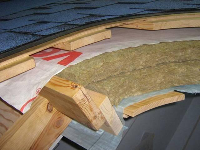 Пирог кровли под мягкую черепицу — основательно подходим к вопросу утепления и гидроизоляции крыши