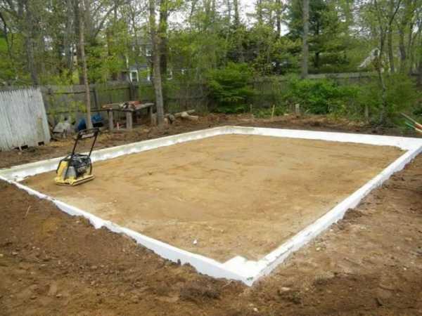 Фундамент-плита для гаража (видео)