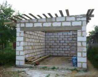Стены в гараже своими руками: материал, толщина стен из кирпича, утепление и внутренняя отделка