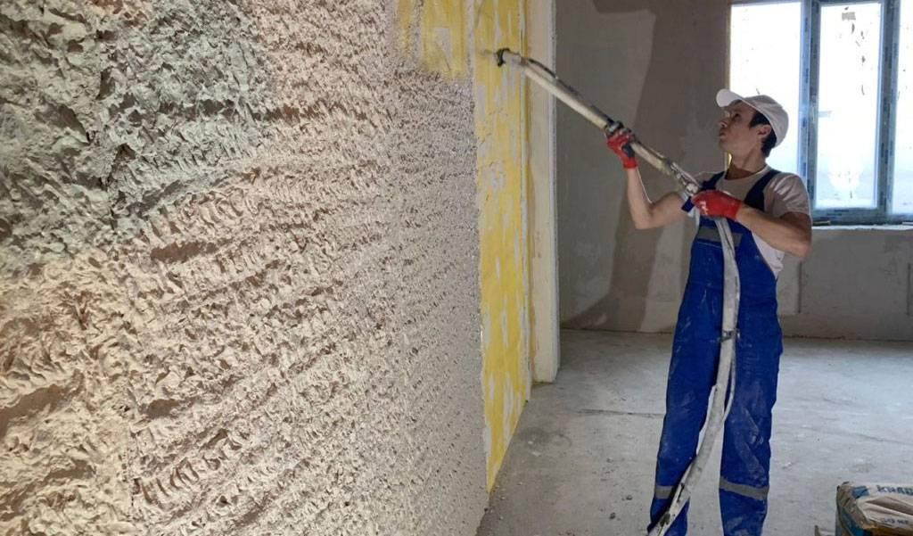 Расход гипсовой штукатурки на 1 м2: нормы ротбанд, волма, старатели для стен