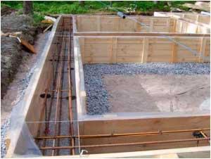 Пошаговая инструкция по самостоятельному возведению мелкозаглубленного ленточного фундамента для бани
