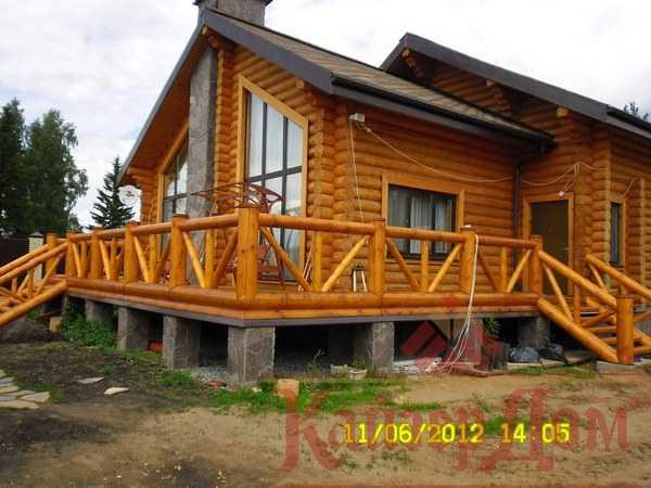 Какой размер бруса выбрать для строительства дома.