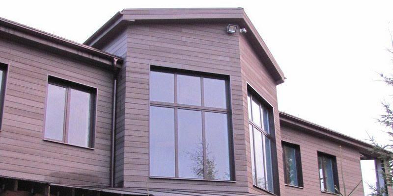 Дпк – новый материал для облицовки домов