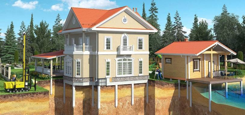 Сваи бетонные забивные: виды ж/б опор для свайного основания, сферы применения железобетонных конструкций, цена, отзывы
