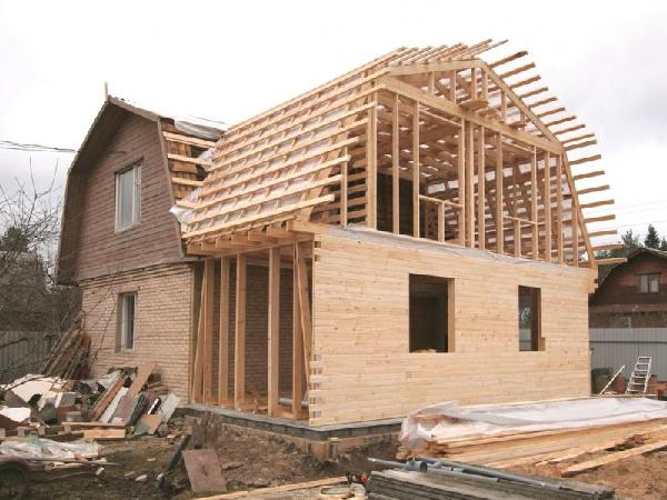 Пристройка к дому из бруса – как правильно сделать – свой дом мечты