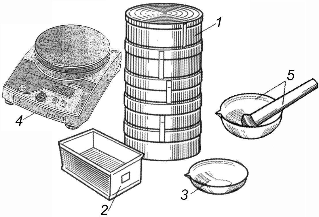 Определение гранулометрического состава песчаного грунта ситовым методом: методические указания по выполнению лабораторной работы по курсам «механика грунтов основания и фундаменты» и «основы технологии дорожного строительства»