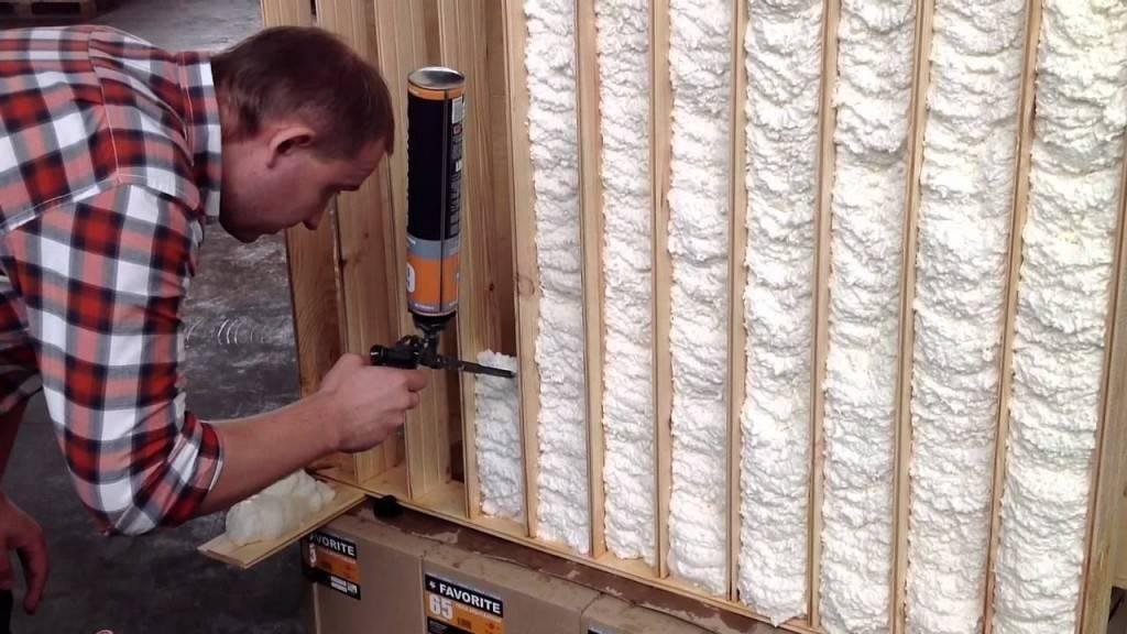 Пена для утепления стен: разновидности, рейтинг лучших