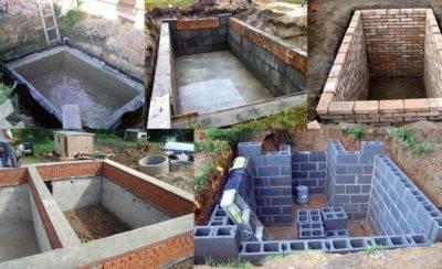 Можно ли построить подвал из бетонных блоков и как это сделать?