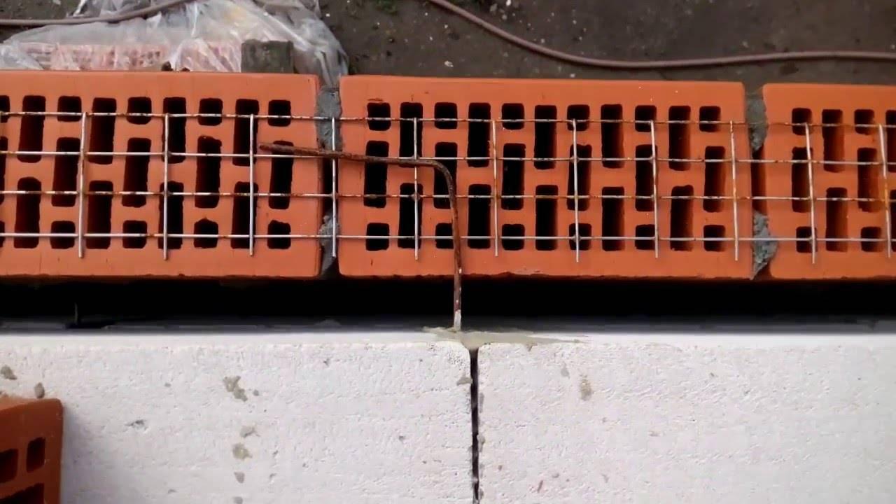 Гибкие связи для конструкций из облицовочного кирпича и газобетона