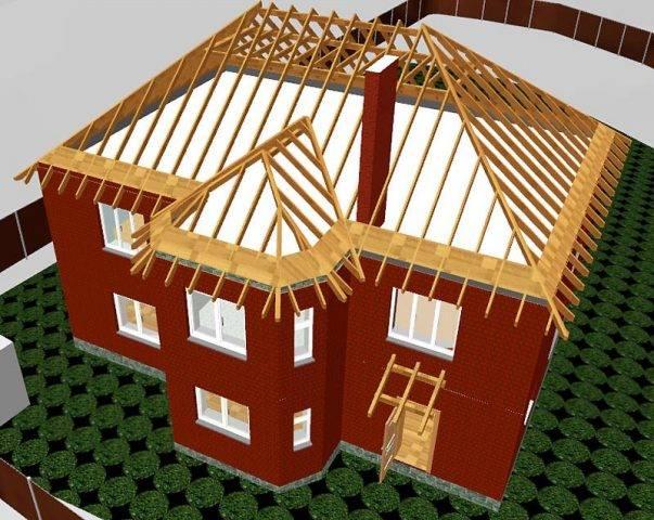 Четырехскатная крыша — основные принципы создания проекта современного жилища