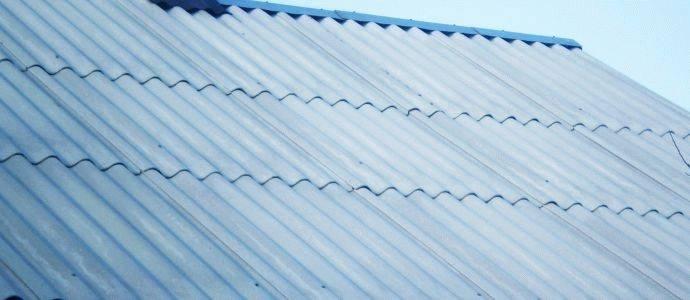 Шифер плоский - размеры листа