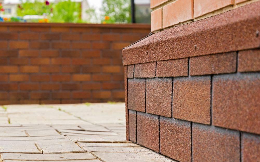Инструкция по отделке бетонного цоколя искусственным камнем