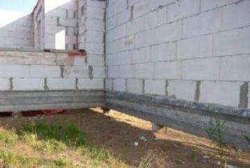 Фундамент на сваях для газобетонного строения
