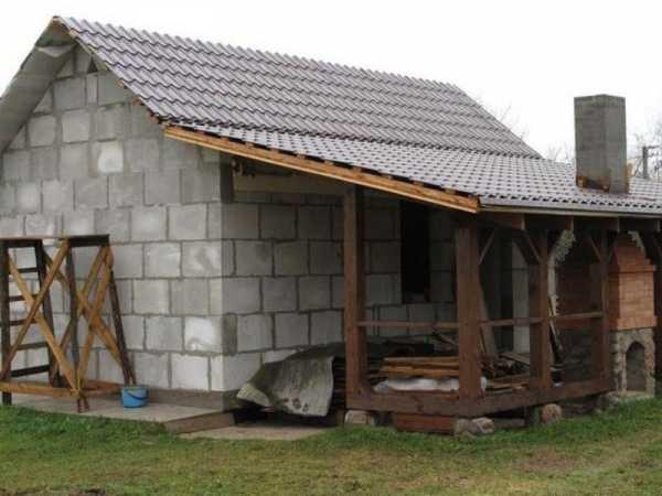 Баня из керамзитобетонных блоков: можно ли построить своими руками, требования к стенам, составление проекта, плюсы и минусы керамзитного строительства