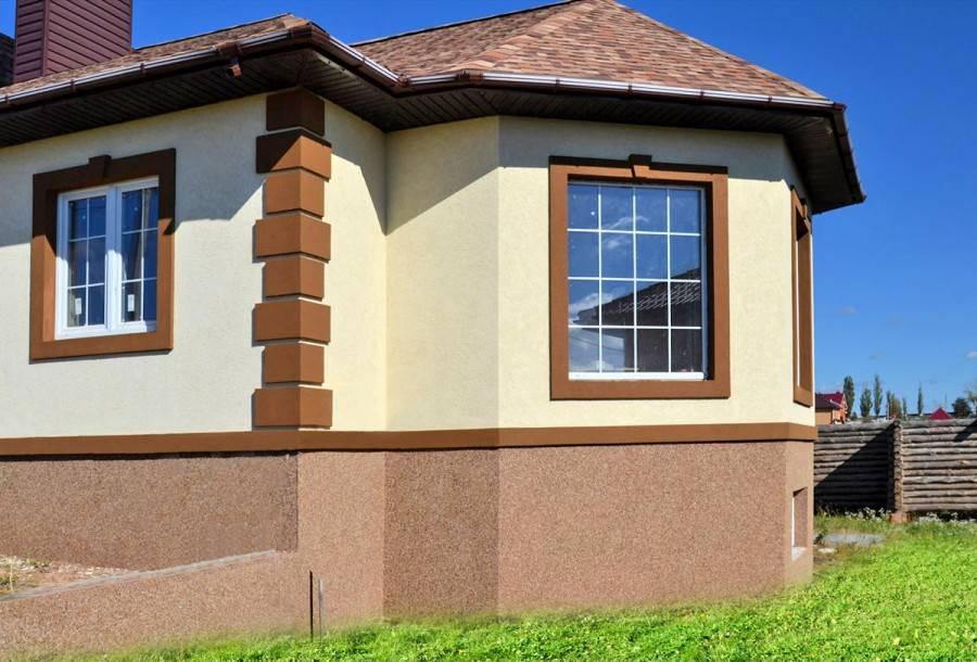 Отделка частного дома: цоколь - подробная инструкция + видео!