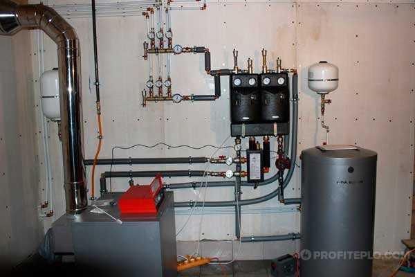 Особенности подключения двухконтурного газового котла