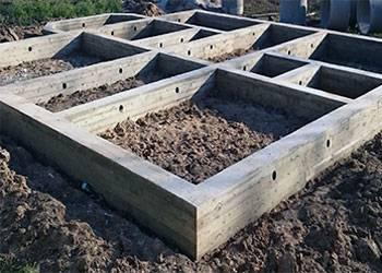 Мелкозаглубленный ленточный фундамент на пучинистых грунтах