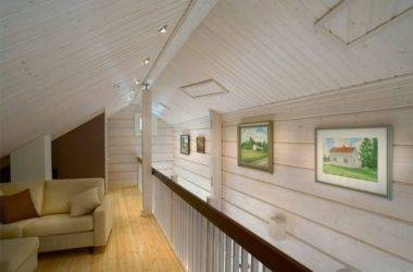 Покраска бруса внутри дома - чем, как и по какой цене