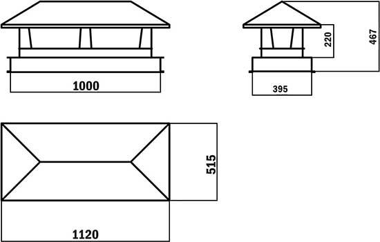 Функции и изготовление колпака на трубу дымохода