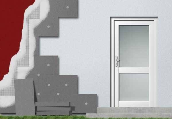 Утепление дома из пеноблоков: видео-инструкция по монтажу своими руками, как утеплить стены, баню, фото