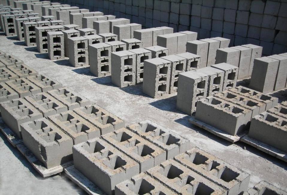 Размеры бетонных блоков и их вес