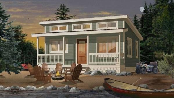 Дома с односкатной крышей: проекты одноэтажных и двухэтажных домов и коттеджей + фото