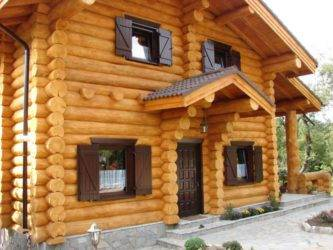 Как правильно построить дом из оцилиндрованного бревна, дом из сруба, технология строительства