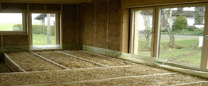 Утепление потолка опилками с известью