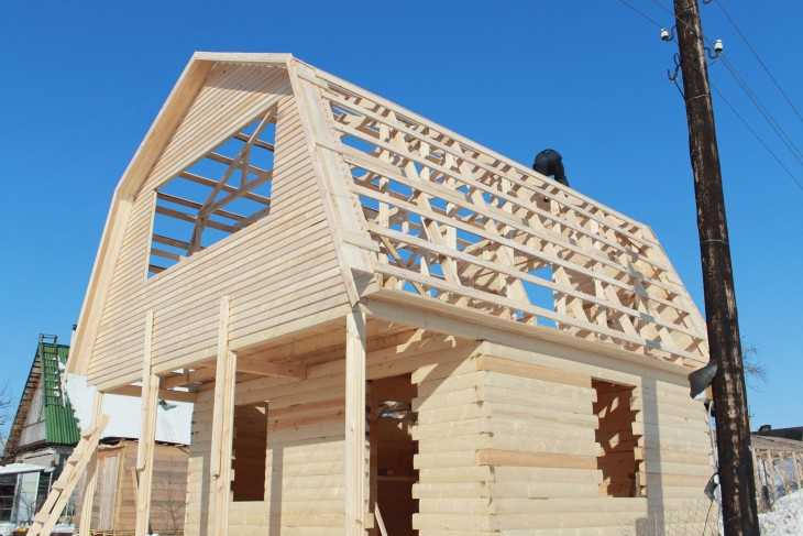 ➤ как построить дом из бруса: технология + фотоотчет + видео | мы строители ✔1