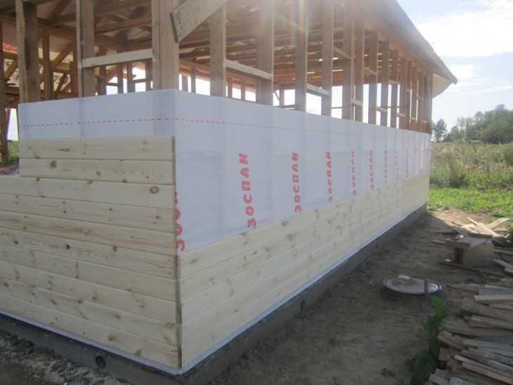 Каркасный дом своими руками: фото этапов строительства