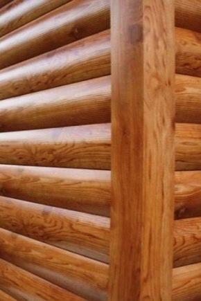 Металлический сайдинг под бревно: начало крепления, монтаж, плюсы и минусы
