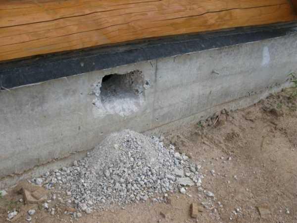 Отдушины и продухи: вентиляция в фундаменте и подвале дома