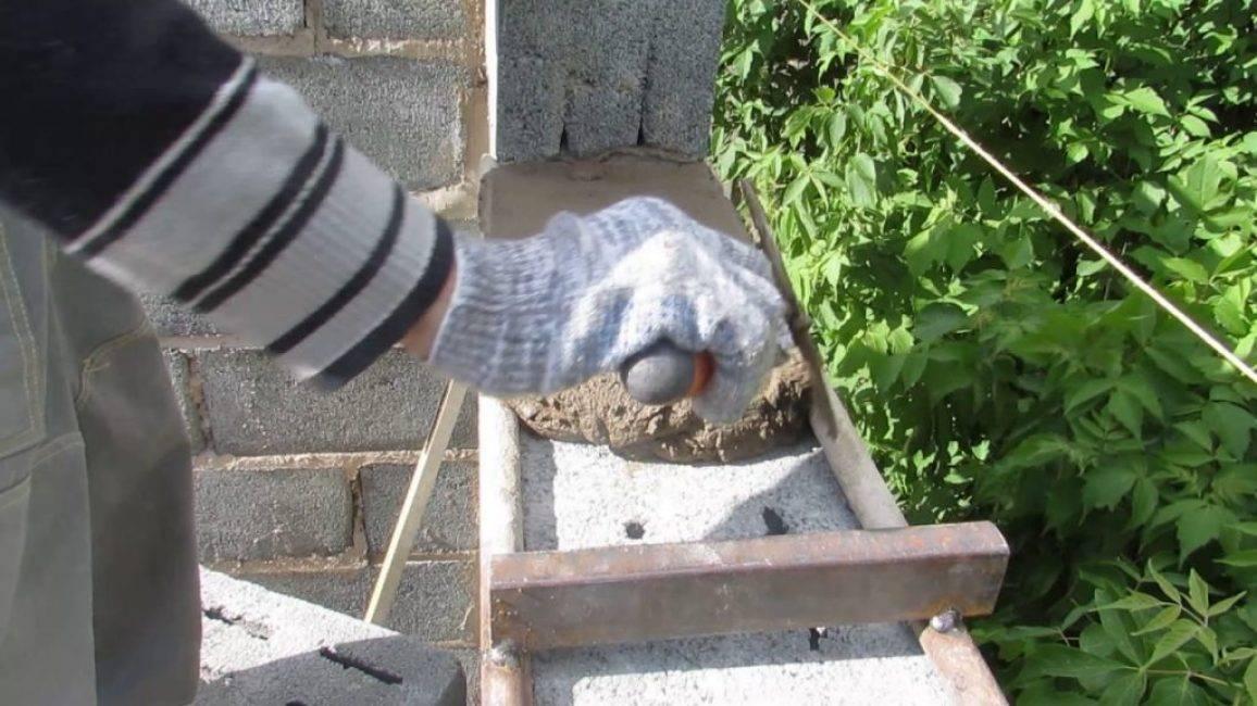 Приспособление для кладки кирпича своими руками и как его использовать