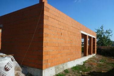 Дом из поризованного керамоблока или теплой керамики - строй-хауз
