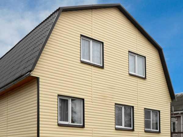 Отделка дома фасадными панелями снаружи - 230+(фото) вариантов