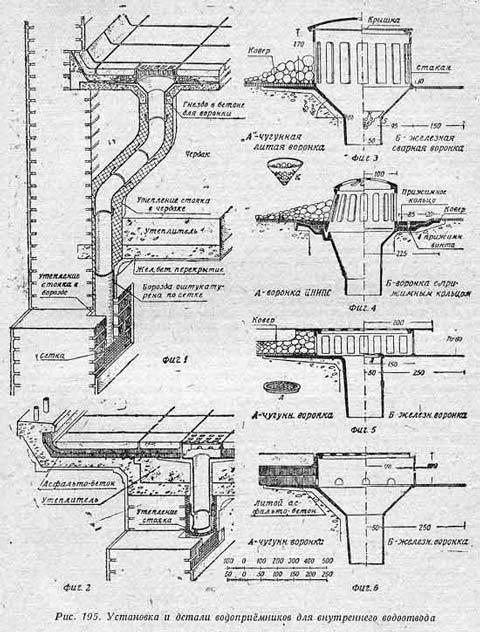 Внутренние водостоки в многоэтажном здании: излагаем детально