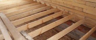 Бетонная стяжка на деревянный пол: технология и расчеты