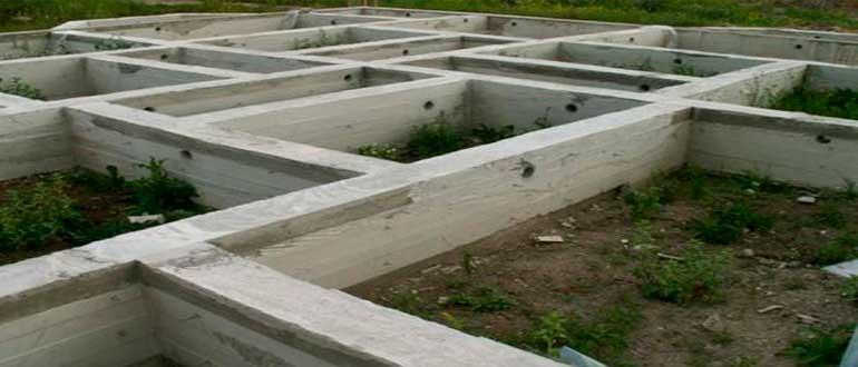 Особенности мелкозаглубленного ленточного фундамента для дома из газобетона