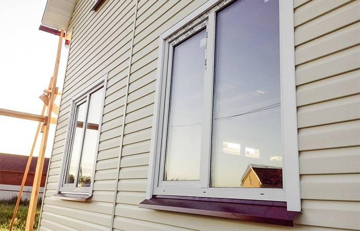 Как обшить окно сайдингом - обшивка окна сайдинговыми панелями (+схемы)