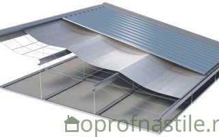 Гидроизоляция крыши дома под металлочерепицу, какую выбрать — укладка и монтаж (видео, фото)